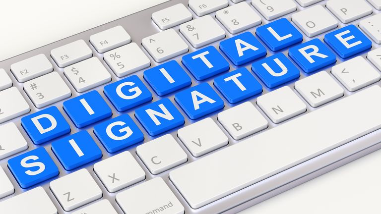 Electronic signatures and seals